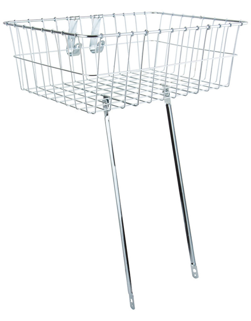 """139 Bolt-On Front Basket 18x13x6"""" Silver"""