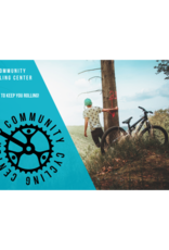 Community Cycling Center $100 Gift Card - IN STORE USE ONLY