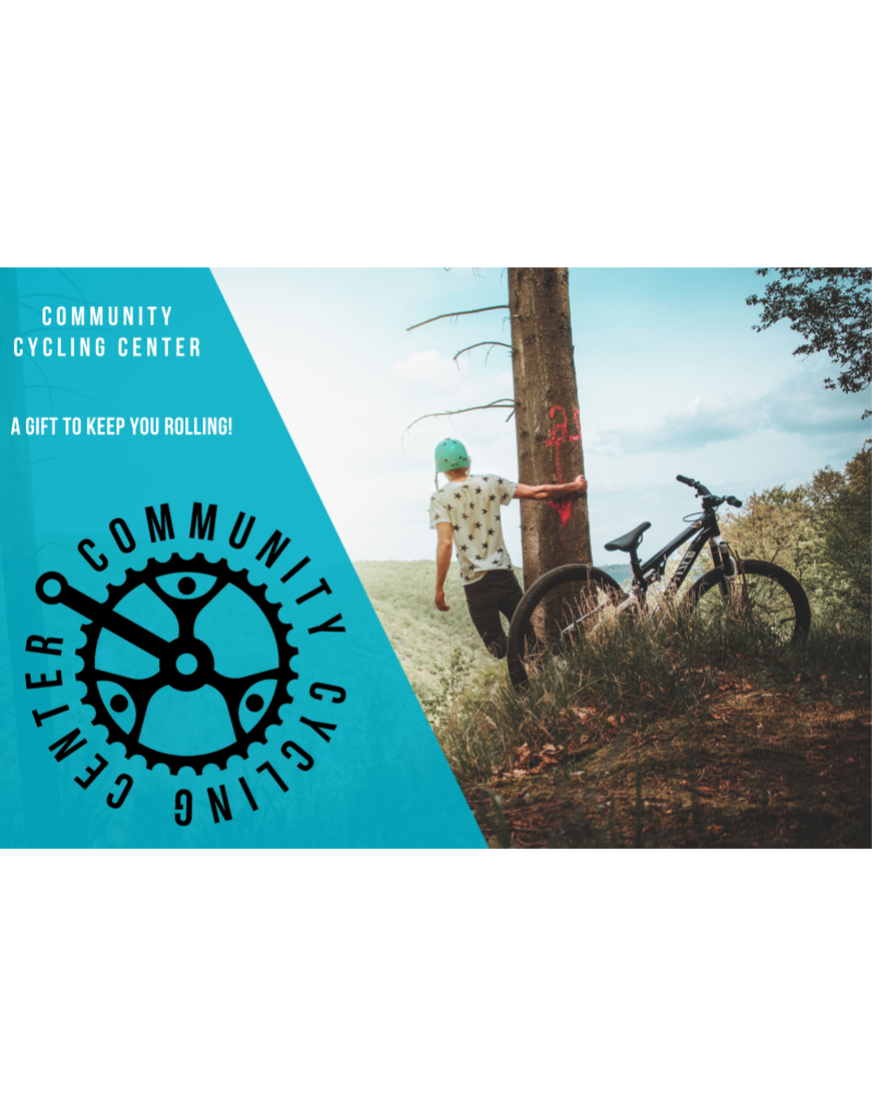 Community Cycling Center $75 Gift Card - IN STORE USE ONLY