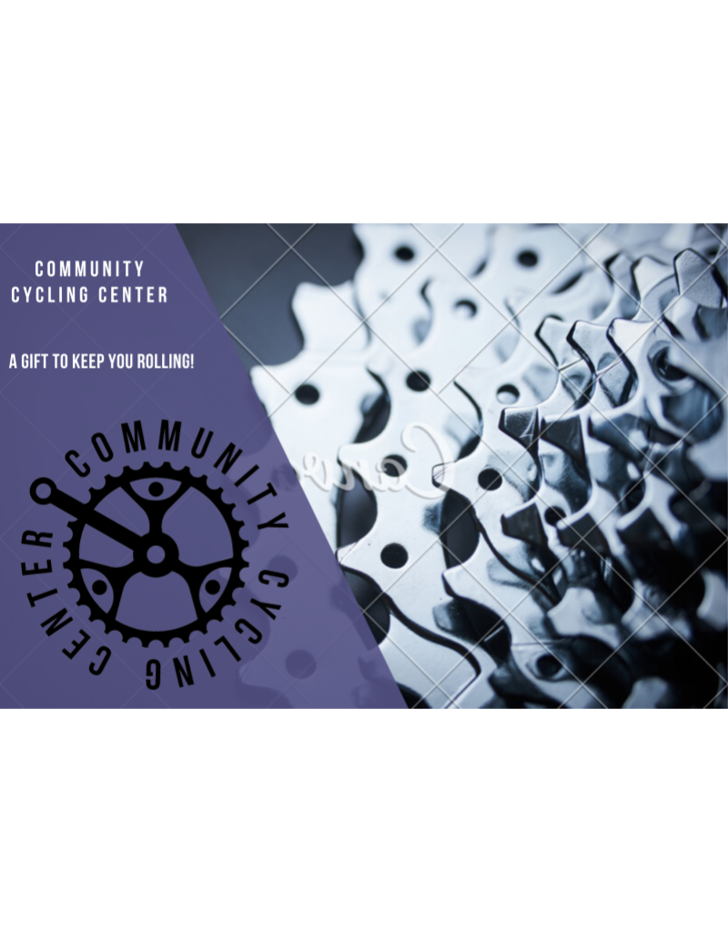 Community Cycling Center $50 Gift Card - IN STORE USE ONLY
