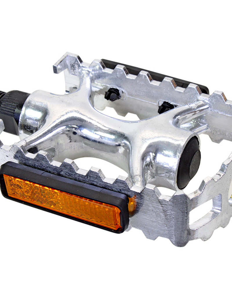 "Sunlite 9/16"" Sport Alloy Pedals Silver"