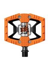 "Crank Brothers 9/16"" Double Shot Clipless/Platform Pedals Orange/Black"
