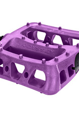 """Odyssey 9/16"""" Twisted PC Pedals Purple"""