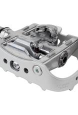 """Wellgo 9/16"""" WPD-95B Clipless/Platform Pedals Silver"""