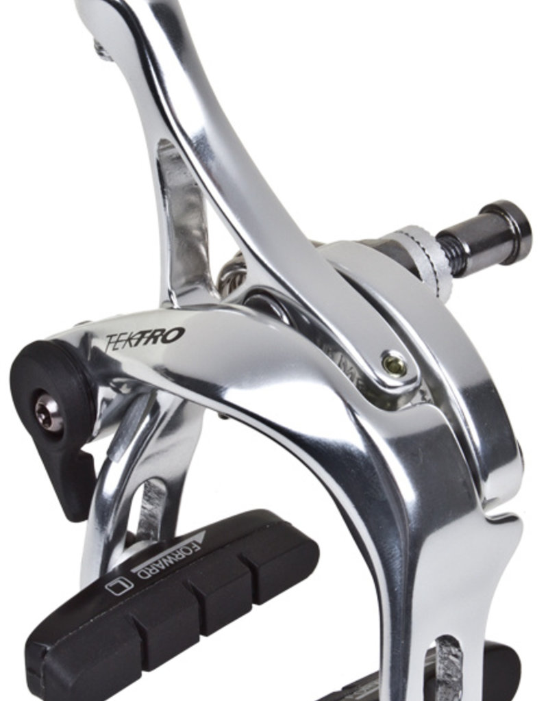 Tektro R540 39-51mm Rear Caliper Brake Recessed Nut Silver