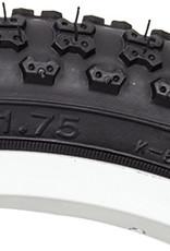 "Sunlite MX3 16x1.75"" Knobby Tire Black"