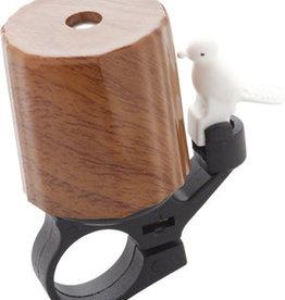 Dimension Woodpecker Wood Grain Bell