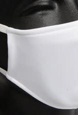 TEXmarket Cloth Face Mask White