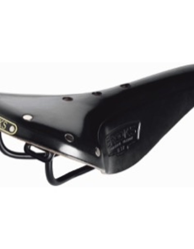 Brooks B17 Narrow Black w/Black Rails