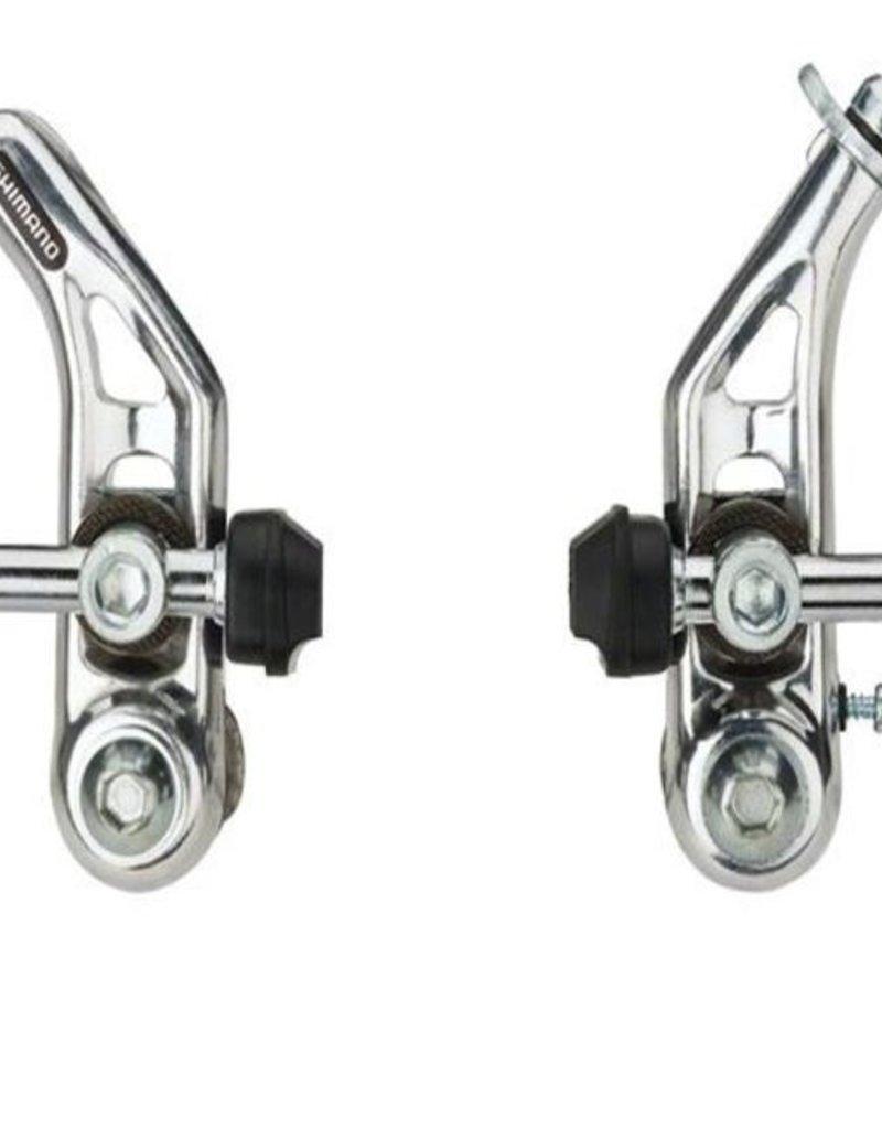Shimano Altus CT91E Cantilever Brakes: Pair FT/RR Silver