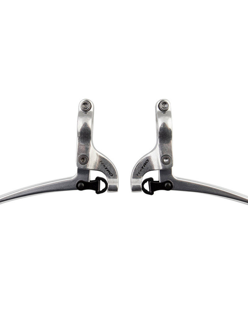 Tektro FL750 Short Pull Brake Levers: Pair Silver