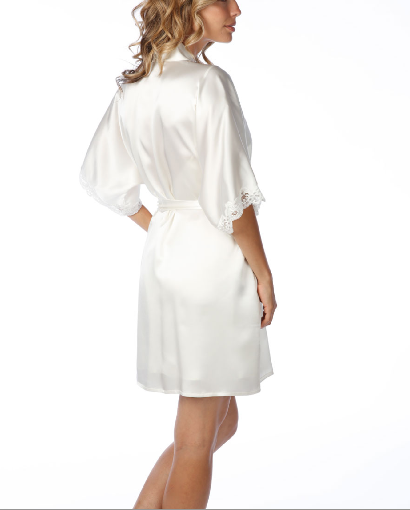 Bijoux Boudoir Short Robe Blossoms And Beehives