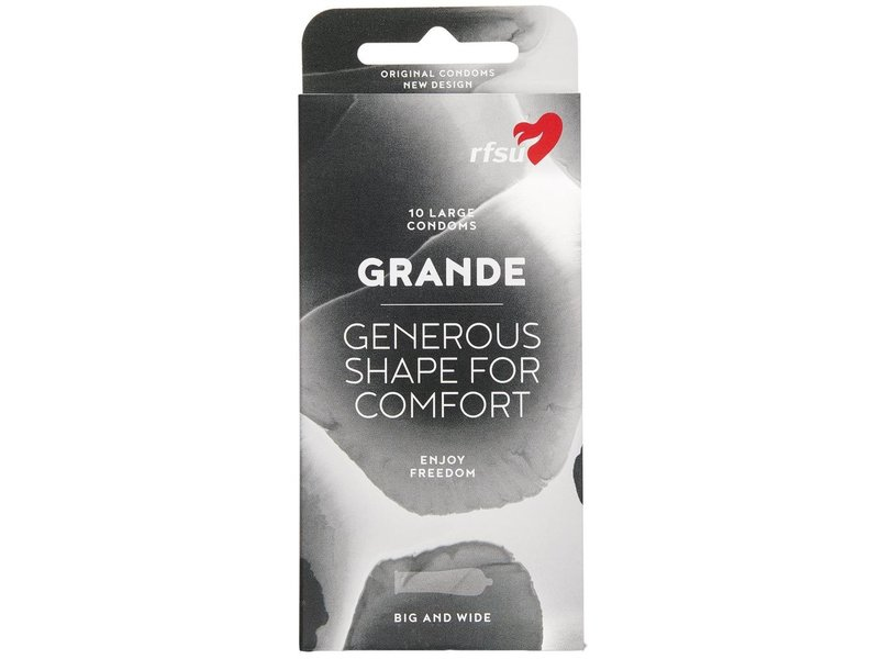 RFSU Grande Condoms (10 pack)
