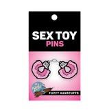 Fuzzy Handcuffs Pin