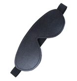 Stockroom Fleece-Lined Leather Blindfold