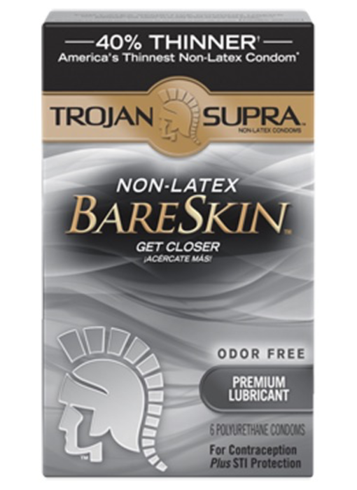 Trojan Supra Polyurethane Condoms