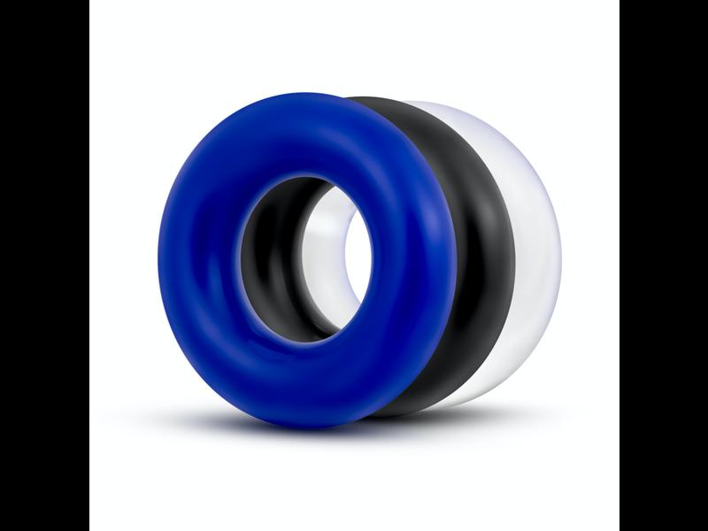 Blush Novelties Small Donut Rings (3 pack)