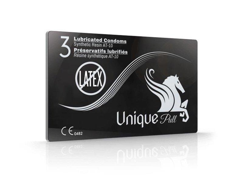Unique Condom Unique Pull Condoms (3 pack)