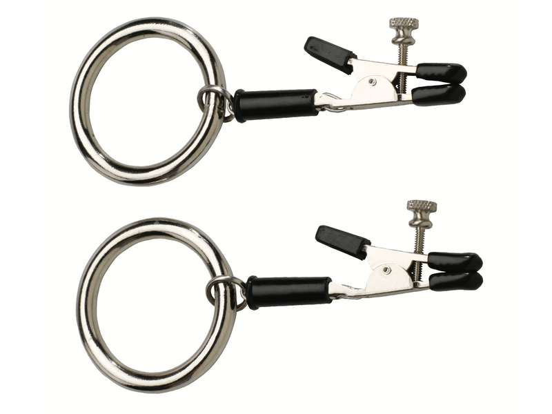 Spartacus Spartacus Alligator Tip Nipple Clamps with Bully Rings