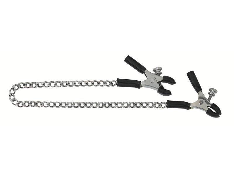 Spartacus Spartacus Micro Plier Nipple Clamps with Link Chain