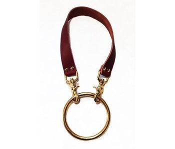 Riverqueer Leatherwork Moonbxy Collar