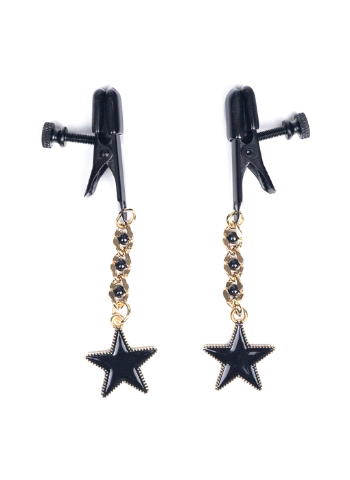 Broad Tip Nipple Clamps with Stars