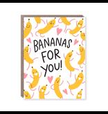 """""""Bananas for You"""" Hello Lucky Gift Card"""