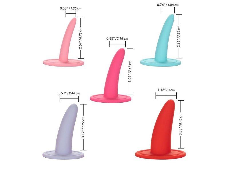California Exotics Wearable 5-Piece Vaginal Dilator Set