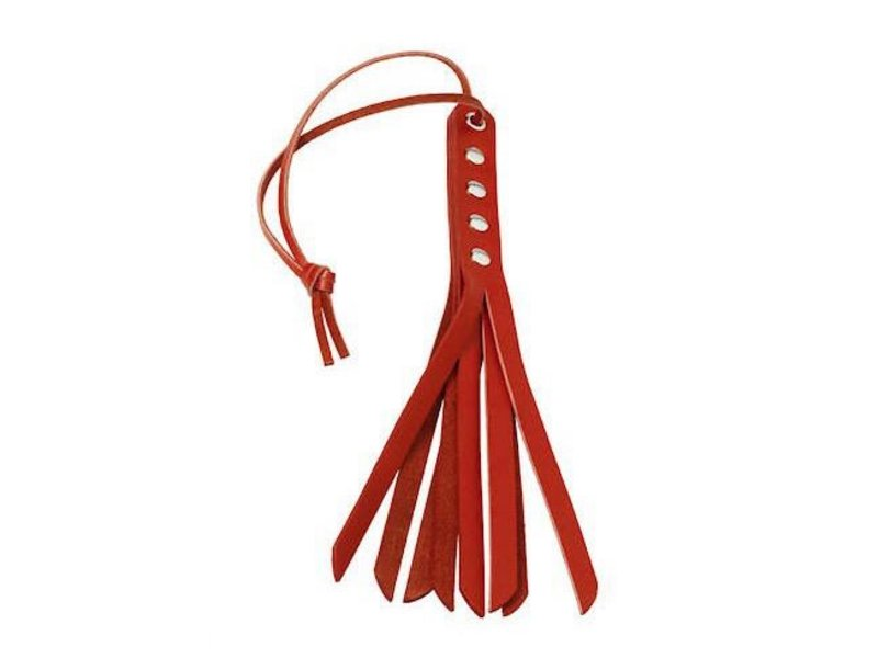 "Spartacus 10"" Red Mini Whip"