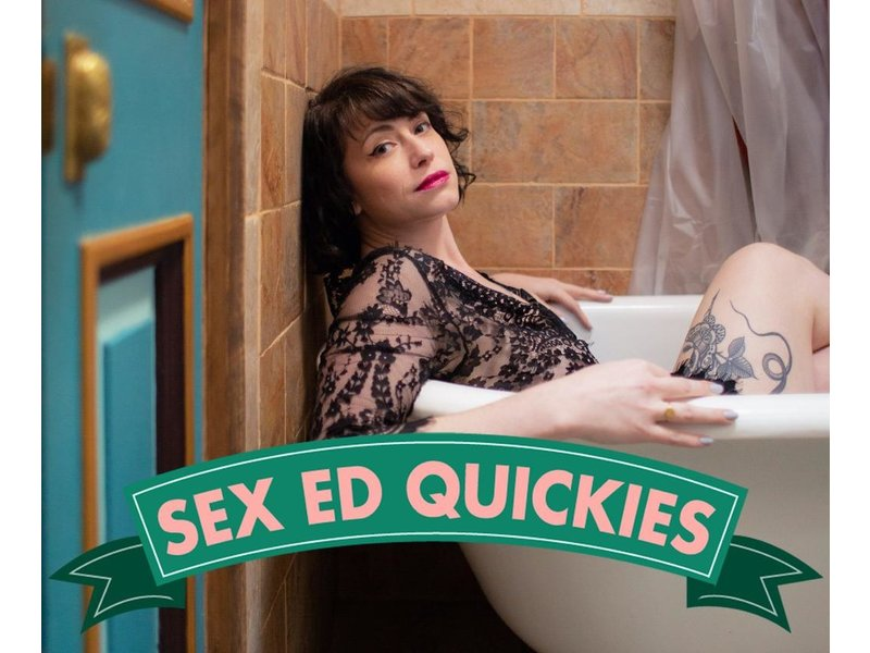 Sex Ed QUICKIE: Love Notes & Dirty Texts! / Tuesday, October 20th