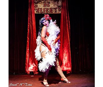 Burlesque for the Holidays with Eva D'Luscious of ShowGirl Temple!