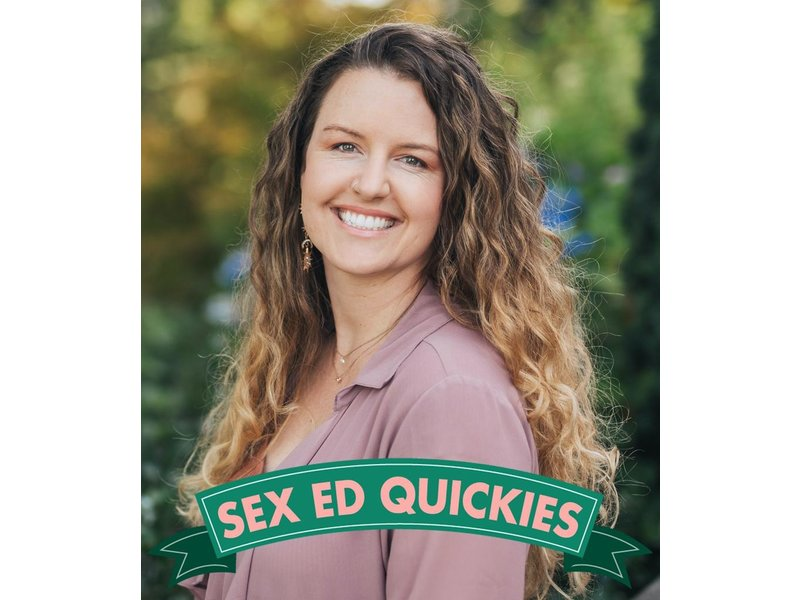 Sex Ed QUICKIE: Getting Out of Your Head & Into Ecstasy! / Tuesday, November 10th