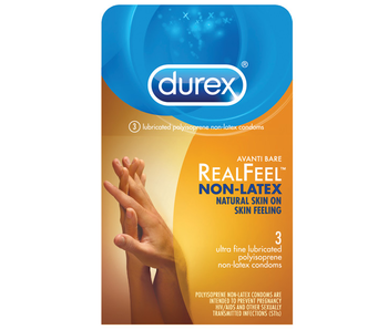Durex RealFeel Non-Latex Condoms (3 pack)
