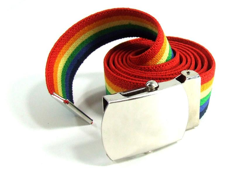 Rainbow Elastic Belt