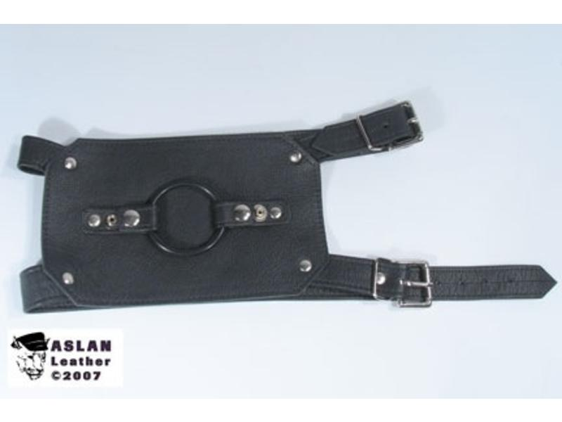 Aslan Aslan Leather Buckling Thigh Harness