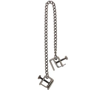 Adjustable Press Tip Nipple Clamps