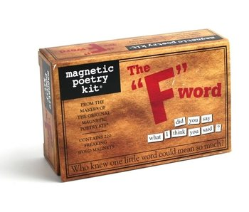 "Magnetic Poetry Kit: The ""F"" Word"