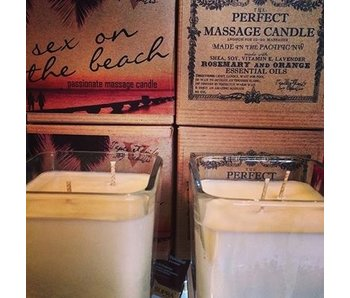 Sex on the Beach Massage Candle