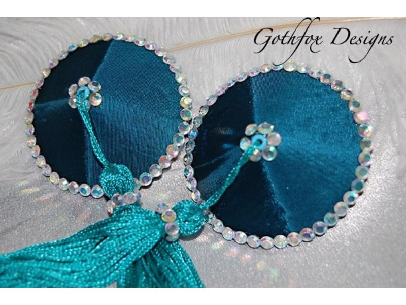 Gothfox Gothfox Couture Satin Pasties