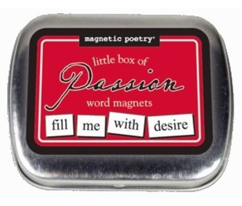 Little Box of Passion Word Magnets