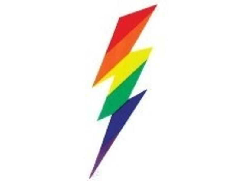 Rainbow Bolt Sticker