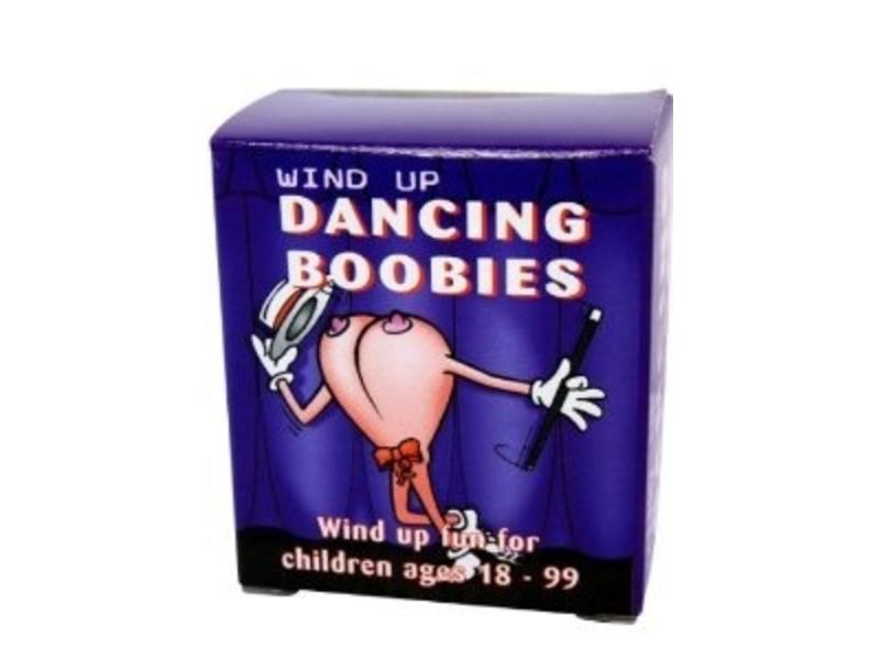 Wind-Up Dancing Boobies