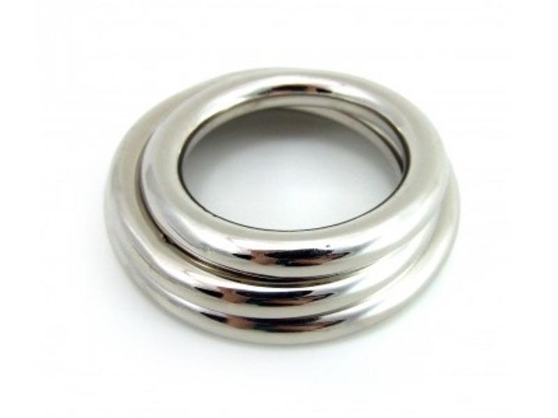 Chrome Ring Set