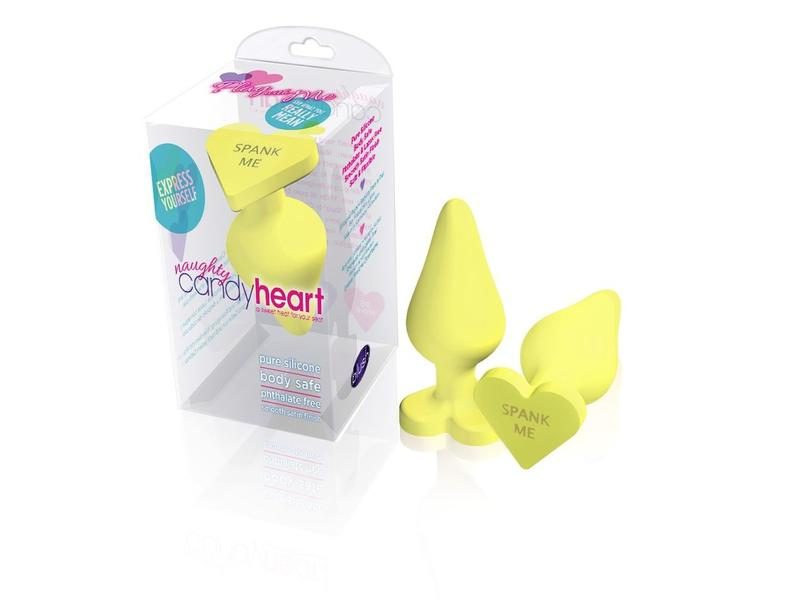 Blush Novelties Blush Naughty Candy Heart Butt Plug