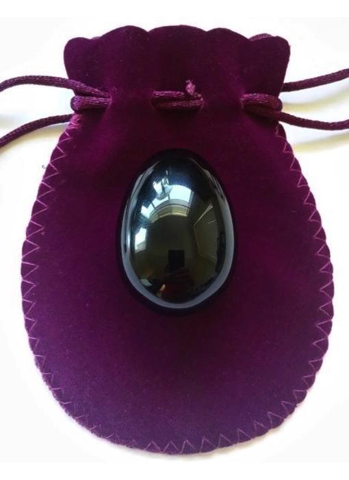 Obsidian Yoni Egg
