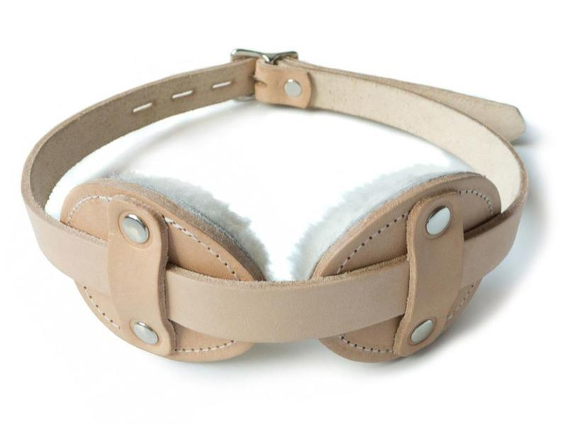 Aviator Style Fleece-Lined Blindfold