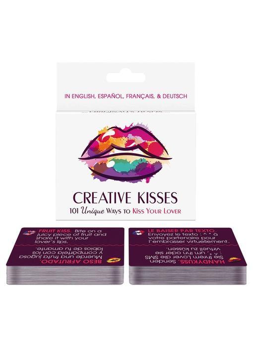 Creative Kisses: 101 Unique Ways to Kiss Your Lover