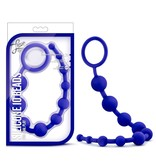 Blush Novelties Blush Luxe Silicone 10 Anal Beads
