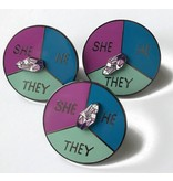 NY Toy Collective Pronoun Pin