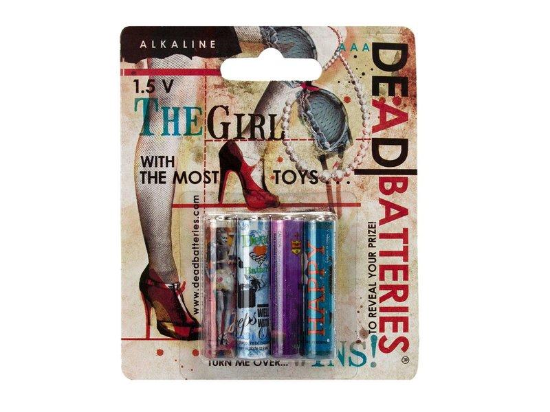 Dead Batteries AAA (4 pack)